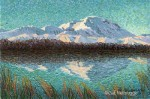 Miniature Original Painting Denali SOLD