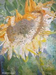 Developing Pointillism on the Sunflower Painting