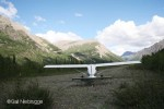 Remote Airstrip Wrangell-St. Elias National Park