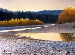 Copper River in the Fall Original Painting SOLD