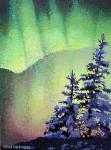 Aurora Borealis Painting Phase 9