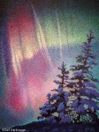 Finished Aurora Borealis Painting!
