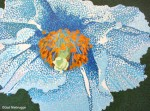 Blue Poppy Painting Phase #7