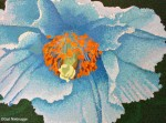 Blue Poppy Painting Phase #9