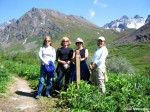 Hiking Hatcher Pass Gold Mint Trail
