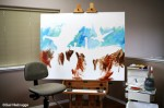 Underpainting the Canvas before Pointillism