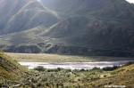 Rain Challenges Artist in Denali