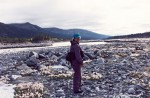Exploring Kuskulana Glacier Moraine and River