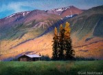"Painting Alaska's Long Low ""Last Light"" SOLD"
