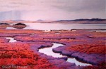 Original Painting Magenta Alaska Tundra SOLD