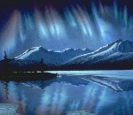 "Northern Lights Print – ""Night Light"" – Sold Out"
