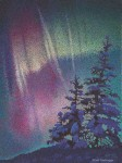 "Buy ""Northern Lights"" Print 6″ x 8″"