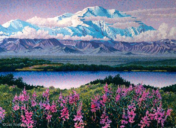 Oil Painting Alaska Bush Plane