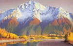 "Buy ""Pioneer Peak"" Art Print"