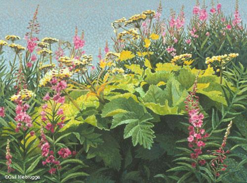 "Buy ""Wildflowers"" 9″ x 12″ Art Print"