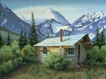 Wilderness Cabin, Co-Habitants Print – Sold Out