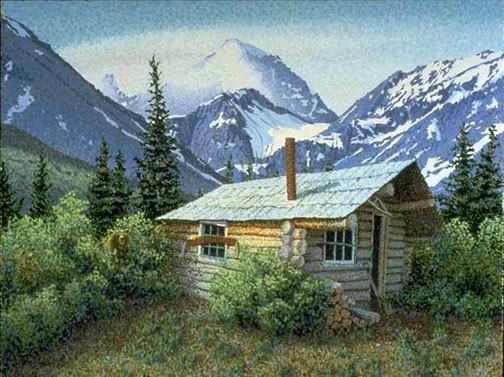 Wilderness Cabin Co Habitants Print Sold Out