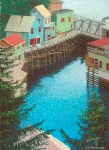 "Buy ""Creek Street"" 5.5″ x 7.5″ Mini Print"