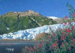 Exit Glacier Art Card – Fire and Ice