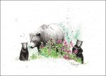 "Buy ""Spring Cubs"" Print 8.5″ x 11″"