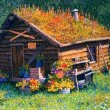"Buy Historic Kantishna Cabin 10"" x 14"" Art Print"