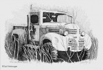 "Buy Vintage ""Truck Near Strelna"" 8″ x 10″ Print"