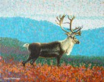 """Caribou One"" Original Painting SOLD"