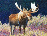 Phase Four Moose Miniature Painting