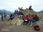 Kids Art Class on the Butte, Alaska