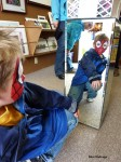 Spider Man Visits Art Booth