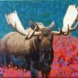 """Buy """"Moose Two"""" Mini Art Print"""