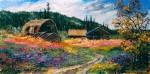 "Buy Original Painting ""Copper Center's Past"""