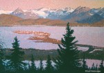 "Buy Original Painting ""Homer View"" by Alaska artist Niebrugge"