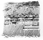 "Buy Original Ink Drawing ""Kodiak Harbor"" Alaska"