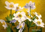 "SOLD Original Painting – ""Narcissus Flowered Anenome"""