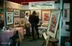 Gail Niebrugge Artist Booth 1991