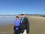 Artist Niebrugge Walks Pismo Beach, California