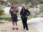Niebrugge's; Artist and Photographer Hike Palm Canyon