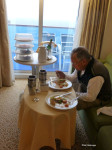 Champage Breakfast in the Stateroom