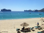 Three Ship Day in Cabo