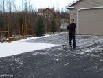 Dillon Clears Snow